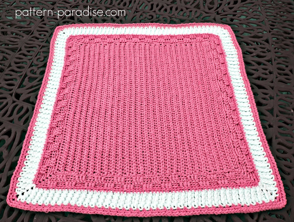 Free Crochet Pattern Bennington Blanket by Pattern-Paradise.com