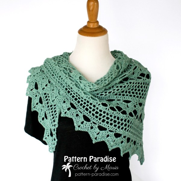 Spring Showers Shawl CAL: Ad-free PDF now available!