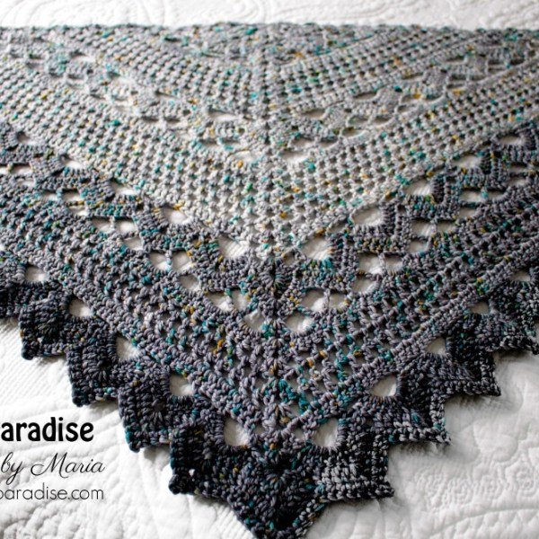 Join Me for the Spring Showers Shawl Crochet Along (CAL)