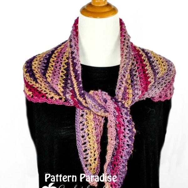 Free Crochet Pattern: Northampton Shawlette