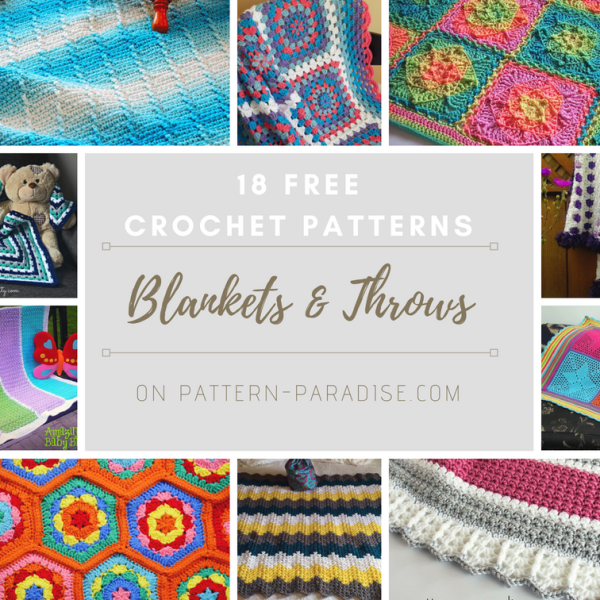 Crochet Finds – Free Blanket Patterns!