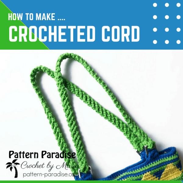 Tutorial: Crocheted Cord