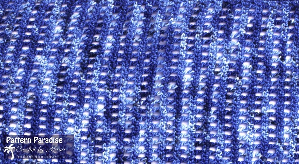 Crochet Pattern for Autumn Jewel Wrap