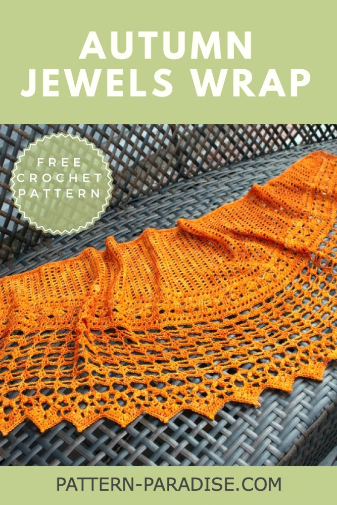 Autumn Jewels Wrap