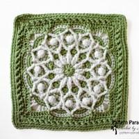 Casablanca Crochet 12 inch Square