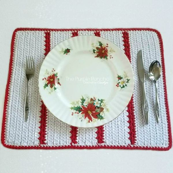 #12WeeksChristmasCAL – Holiday Placemat