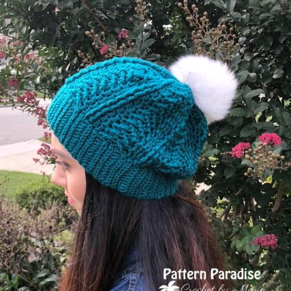 Crochet Pattern: Bond Street Beanie Hat