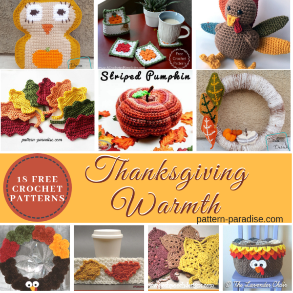 Crochet Finds – Thanksgiving Warmth