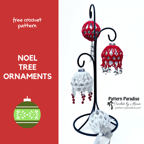 #12WeeksChristmasCAL – Noel Tree Ornaments