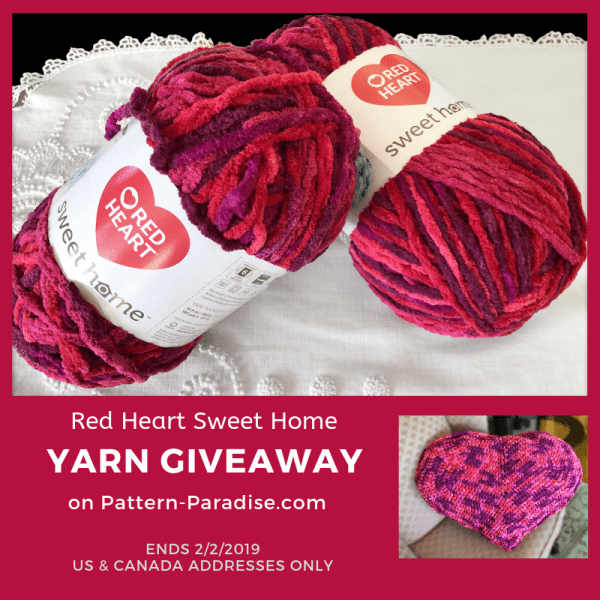 Red Heart Sweet Home Review & Giveaway!