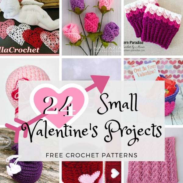 Crochet Finds – Small Valentine's Projects to Make!