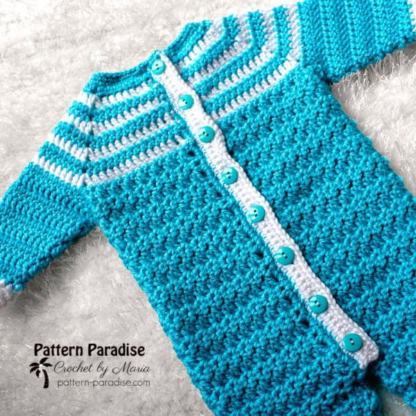Free Crochet Pattern: Snug As A Bug Baby Onesie