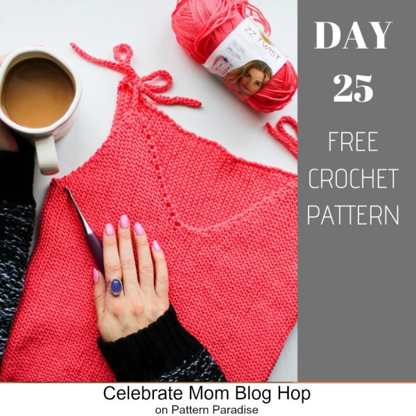 2019 Celebrate Mom Blog Hop – Day 25 Stretch It Like It's Knit Tank Top