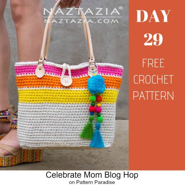 2019 Celebrate Mom Blog Hop – Day 29 Sweet Simple Tote Bag