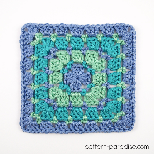 block stitch square