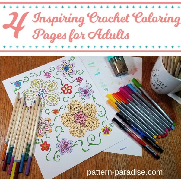 Free Crochet Coloring Pages eBook Review