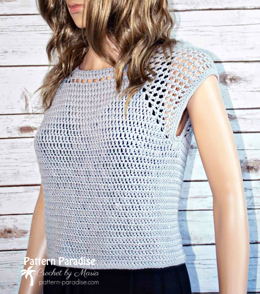 Chelsea Top Crochet Pattern