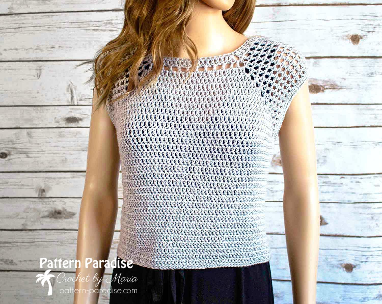 Chelsea Top Crochet Pattern