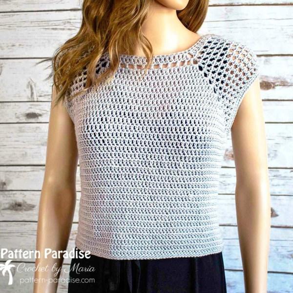 Free Crochet Pattern: Chelsea Top