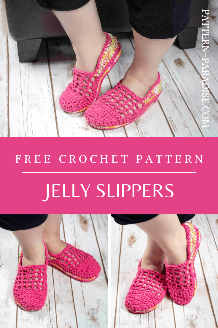 jelly slippers pattern pin