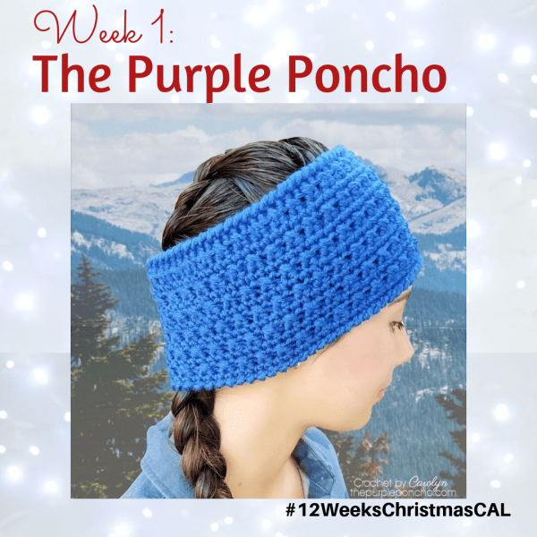 2019 Christmas Blog Hop – Alpine Winter Headband