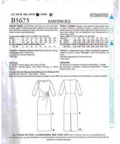 Butterick B5675 1 1