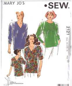 75604efd66afd Women Tops Sewing Patterns - Pattern-Walk collection