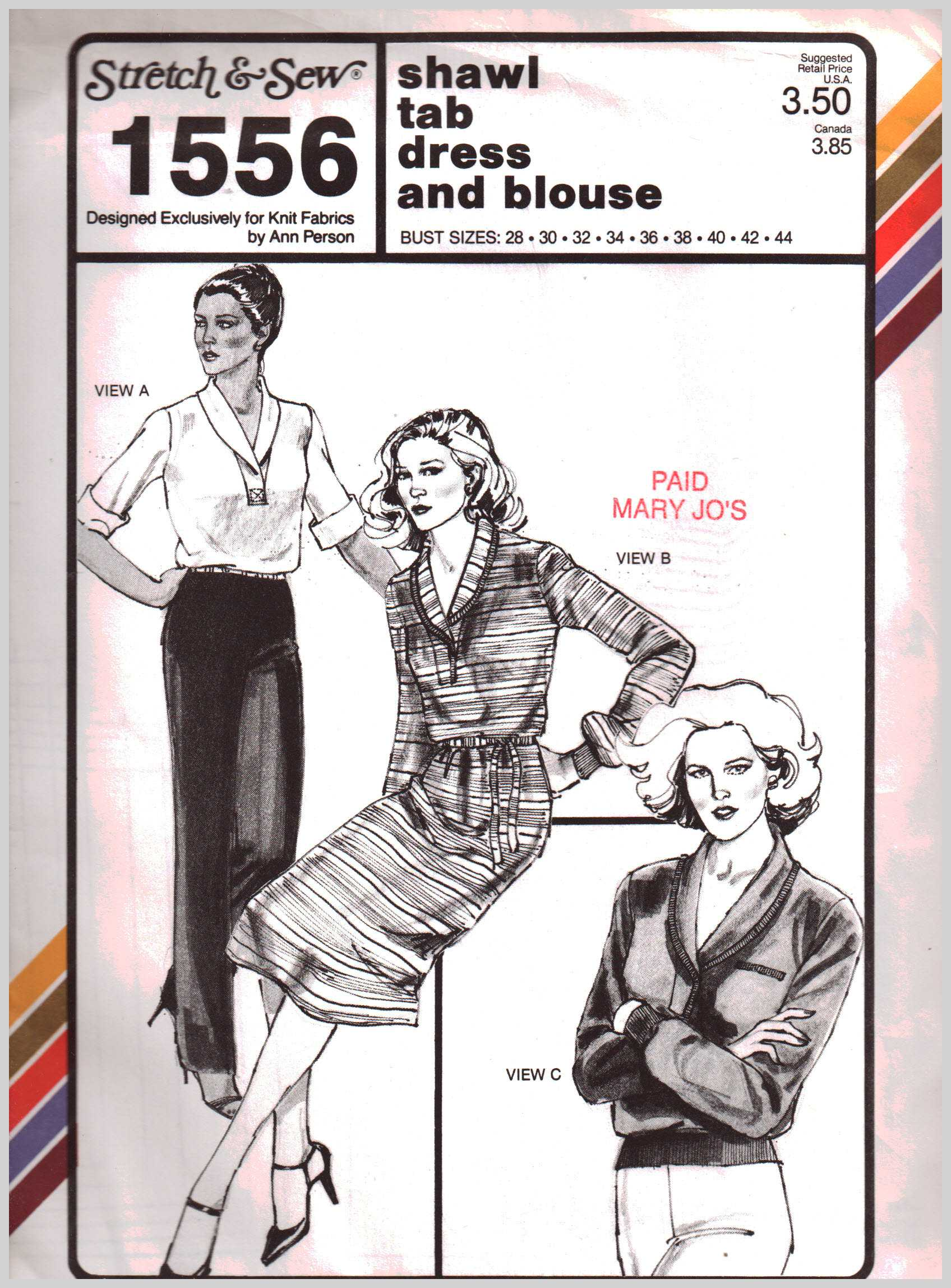 Sewing Patterns - Pattern-Walk Stretch & Sew Sewing Patterns collection