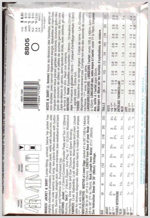 Vogue 8805 1