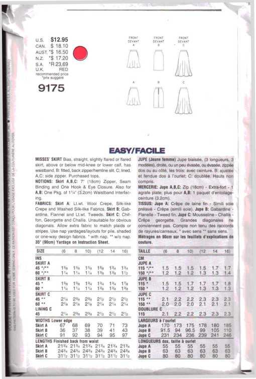 Vogue 9175 1
