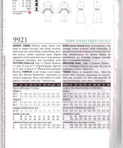 Vogue 9921 D 1