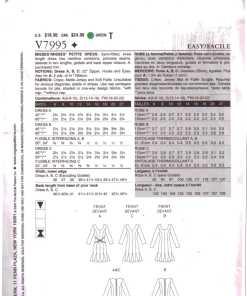 Vogue V7995 A 1