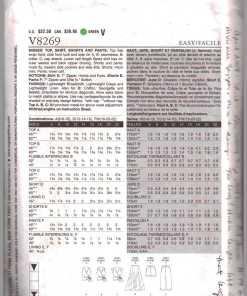 Vogue V8269 1