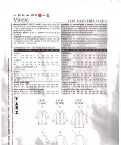 Vogue V8496