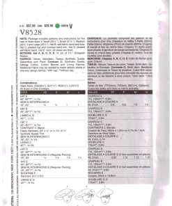 Vogue V8528 1
