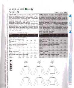 Vogue V8618 1