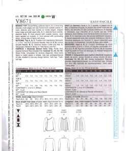 Vogue V8671 1