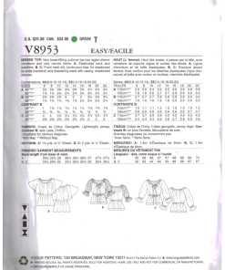 Vogue V8953 1