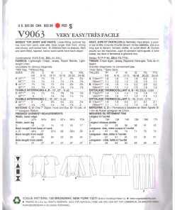 Vogue V9063 1