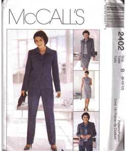 McCalls 2402 Y