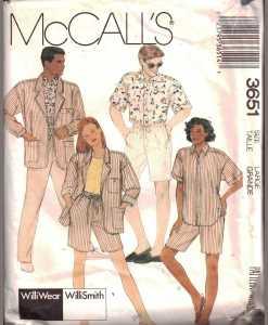 McCalls 3651 M
