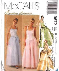 McCalls 9672 M