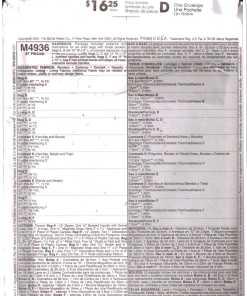 McCalls M4936 M1