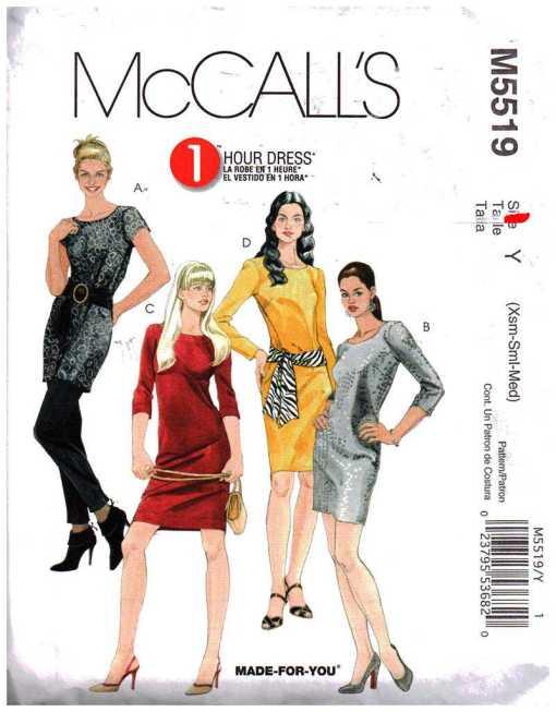 McCalls M5519