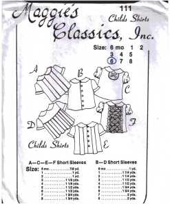 Maggie's Classics Sewing Patterns
