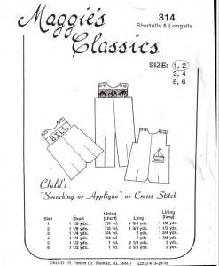 Maggies Classics 314