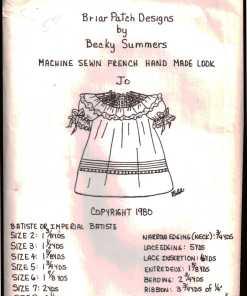 Briar Patch Designs Machine Sewn