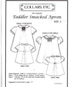Collars Etc Toddler Smoled Apron