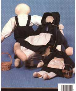 Country Cross Stitch Stuffed Toys 1
