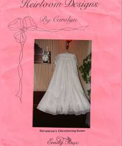 Emily Rose Geraldines Christening Gown